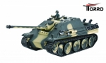 Jagdpanther 2.4 GHz R&S BB-Version Metallgetriebe Airbrush Tarn