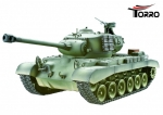 M26 Pershing Snow Leopard Hobby-Edition 2.4 GHz R&S Metallgetriebe Metall-Treibrad Metallkette & Airbrush