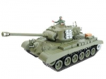 M26 Pershing Snow Leopard Pro Edition 2.4 GHz R&S Metallgetriebe Metall-Treibrad Metallkette Holzbox