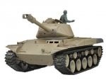 M41 Walker Bulldog 2.4GHz R&S Metallgetriebe Holzbox