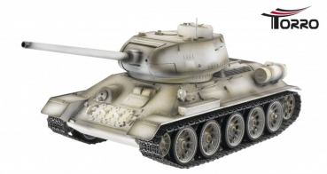 T 34/85 2,4 GHz Profi Metall Edition BB-Version  Schneetarn