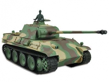 Panther Ausf. G 2.4 GHz BB-Version Metallgetriebe Airbrushlackierung Holzbox