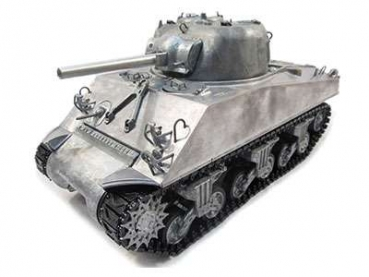 Sherman M4A3 Full Metal 2,4GHz TRUE Sound unlackiert