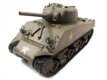 Sherman M4A3 Full Metal 2,4GHz TRUE Sound Army Green