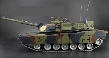 Abrams M1A2 Metall-Edition 2,4 GHz R&S Wüste BB+IR V6.0 Camouflage