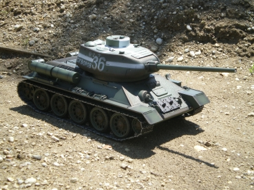 T 34/85 2,4 GHz Profi Metall Edition IR-Version Grün